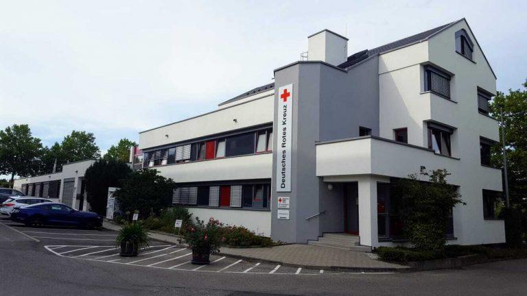 Gebäude außen Ausbildungszentrum DRK Heilbronn