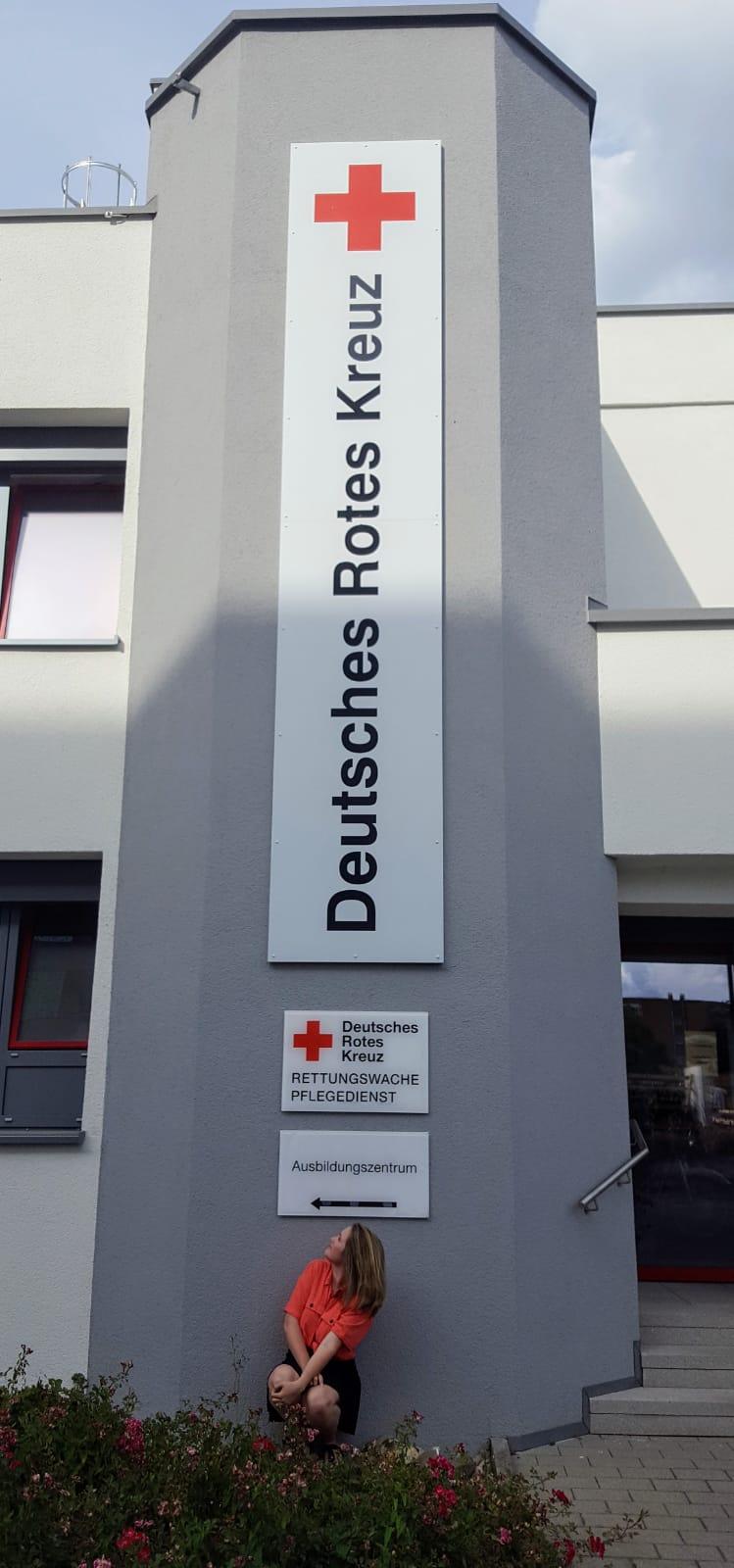 Haupteingang DRK Ausbildungszentrum Heilbronn