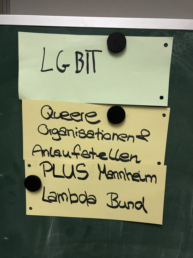 Präsentation zu Queerfeminismus und Ableismus